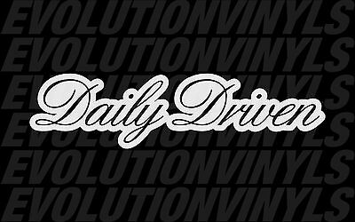 Daily Driven V3 sticker decal vinyl drift ill stance illmotion racing JDM illest