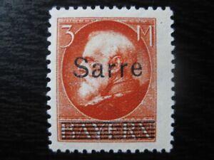 SAAR-SAARLAND-Mi-29-scarce-mint-overprint-stamp-CV-180-00
