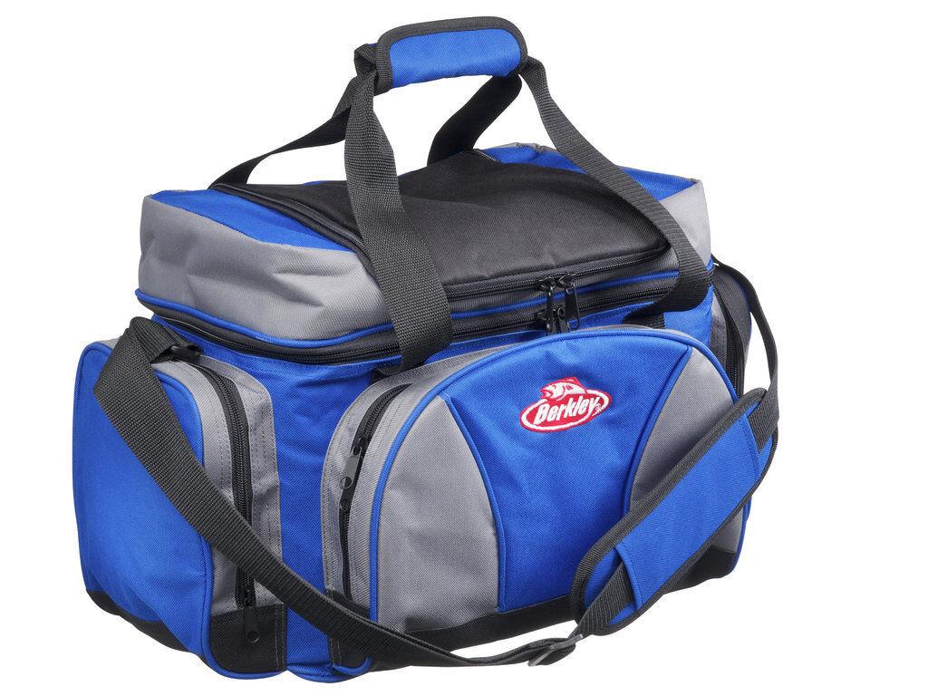 Berkley Gerätetasche und Kühltasche mit 4 Köderboxen System Bag Angeltasche