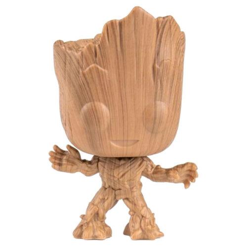 Vinyl Figure #622 Vol Guardians of the Galaxy 2 Groot Wood Deco Exclusive Pop