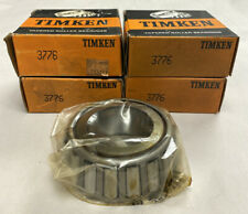 Timken 3776 Tapered Roller Bearing Cone Lot Of 4 Nos