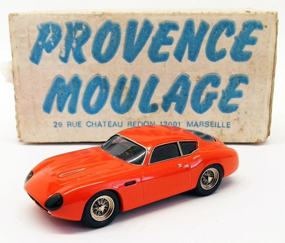 Provence Moulage 1/43 Scale PM22518 - Aston Martin DB4 GT Zagato - Sebring Rojo
