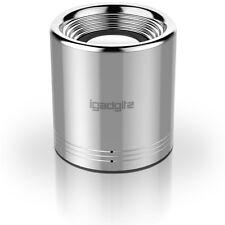 Argento Portatile Cassa Wireless Bluetooth Altoparlante Speaker iPhone Samsung