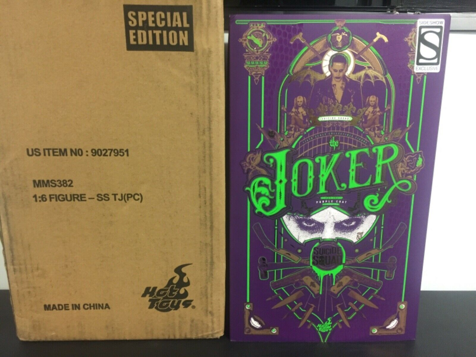 Hot Toys Joker lila Coat SS Exclusive