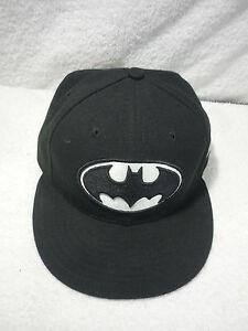 19132703261 MENS BASEBALL HAT BATMAN DC COMICS CAP LOGO NE NEW ERA FITTED ...