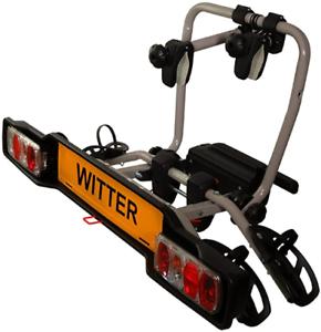 Witter-ZX302EU-Fahrradtraeger-fuer-Anhaengerkupplung-AHK-fuer-2-Fahrraeder-abklappbar