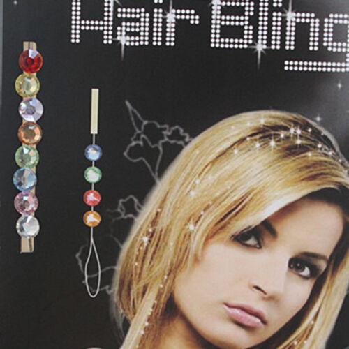 Woman//Ladies DIY Crystal Rhinestone Bling Diamond Hair Accessories Wedding