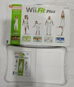 Nintendo-Wii-Fit-Plus-with-Balance-Board-in-Original-Box-Read