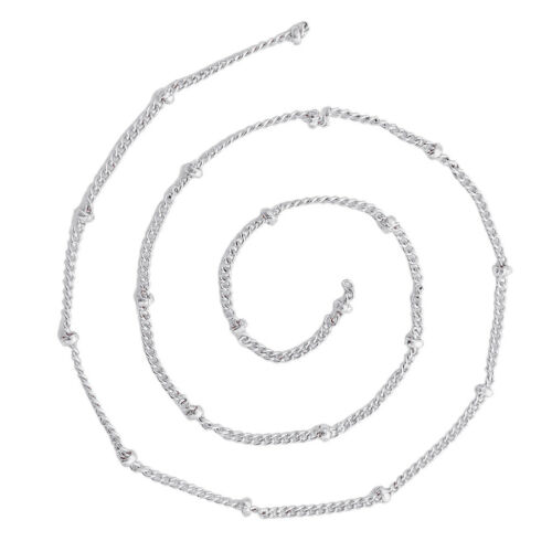 5 Meters Beaded Necklace Bracelet Chain Findings for Jewelry Making Craft