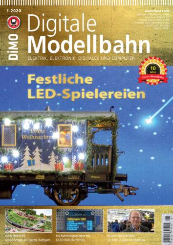 MIBA Eisenbahn Journal Digitale Modellbahn Festliche LED-Spielereien 1-2020