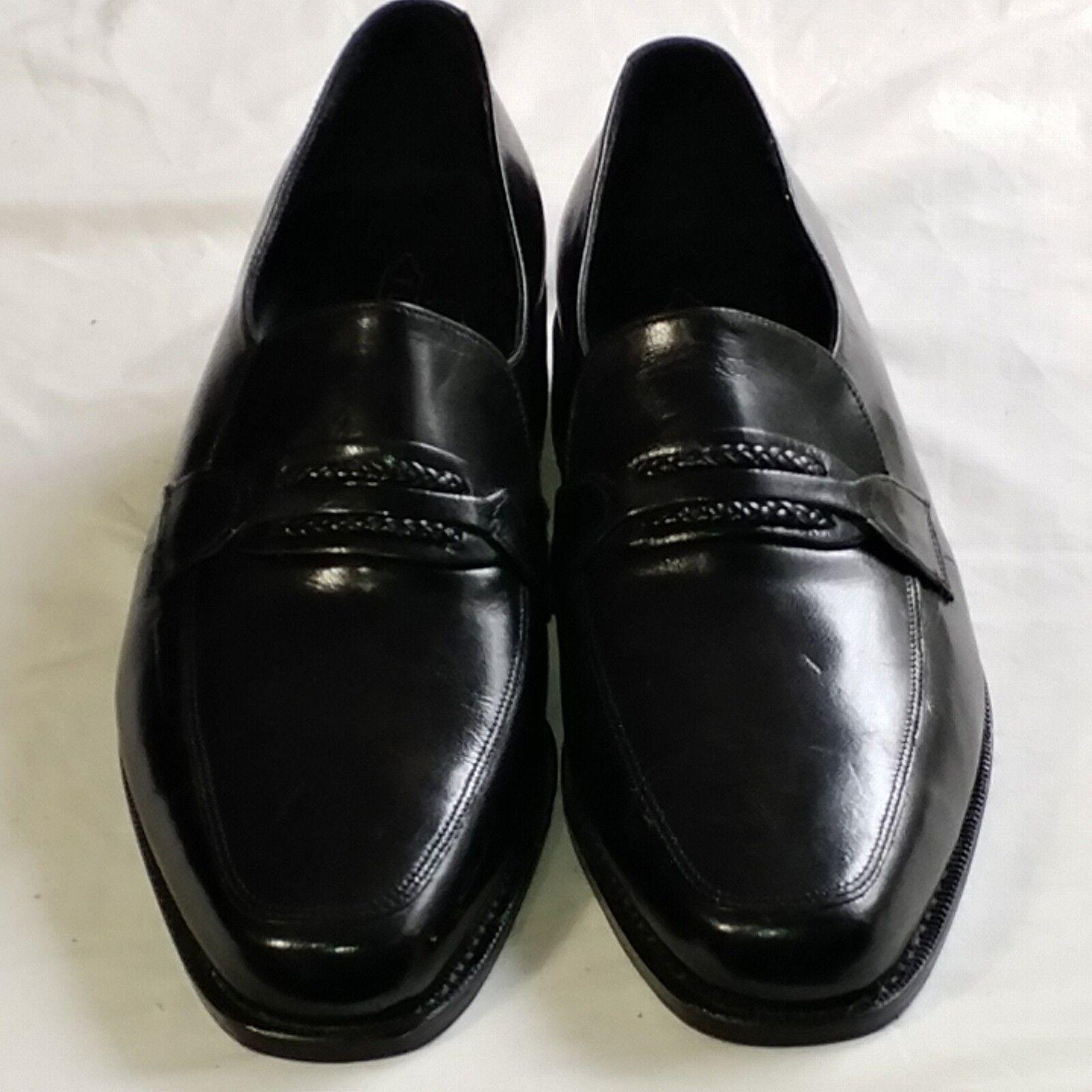 Florsheim FLS Loafers Size 11 N Men's Penny On Black Dress Shoes Slip On Penny 23258 7f29b3
