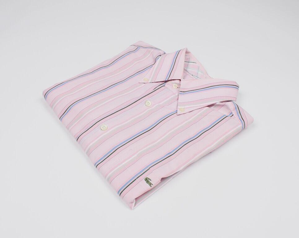Lacoste Kurzärmlig Herren Hemd Größe 41, Echt     | Rabatt  | Mode-Muster  | Klein und fein