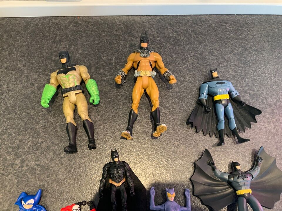 Batman figurer, Dc comics