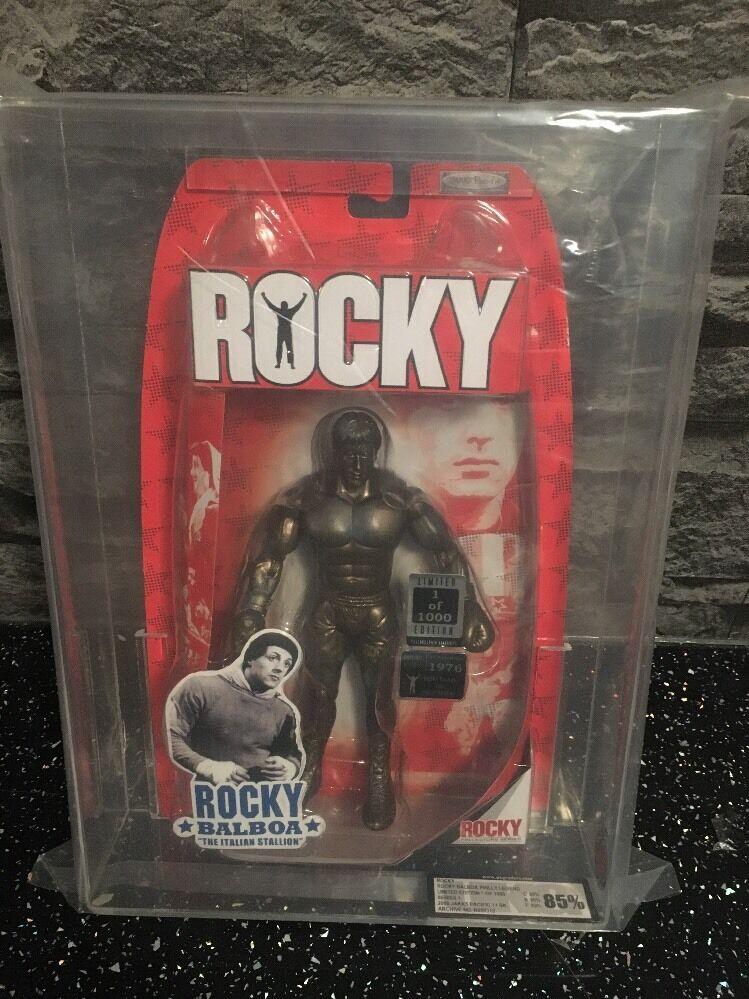 Jakks Pacific Rocky estatua extremamujerte raro nuevo graduada UKG85 Como Nuevo