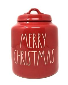 Rae-Dunn-by-Magenta-LL-Merry-Christmas-Red-Christmas-Canister-Large-Letter