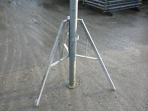 Dreibein DOKA mit Schwerlaststütze Deckenstütze Stahlstütze Baustützen verzinkt