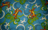Personalize - Winnie The Pooh Tigger Bouncing Child Throw Blanket