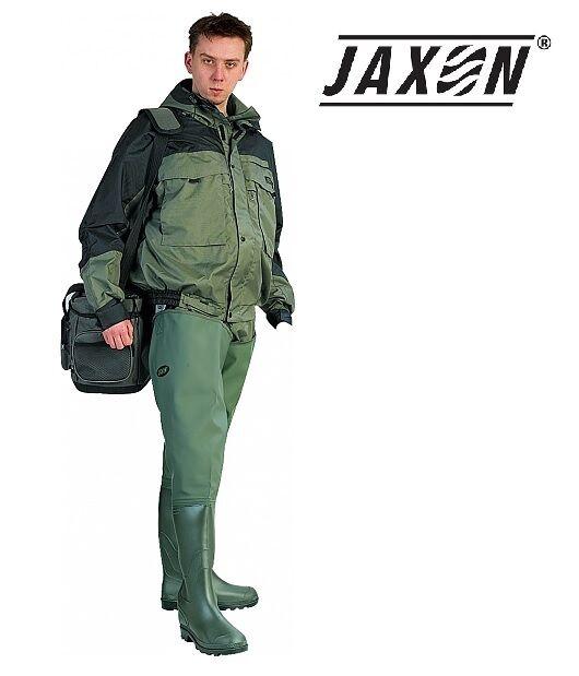 JAXON Prestige Wathose Anglerhose Gummistiefel Waders 100% wasserdicht Gr 41-47