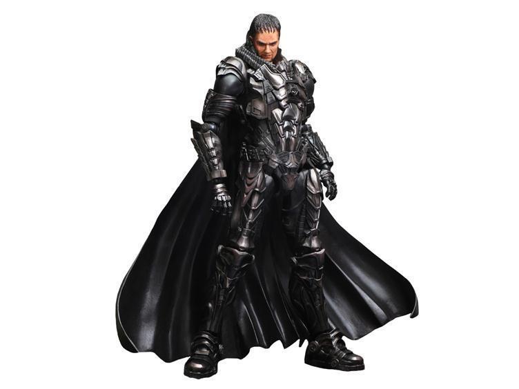 Superman Man of Steel Play Arts Kai General Zod Figure Square Enix Used JC