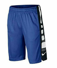 54a563953010 item 8 Nike Boys  Dry Elite Stripe Blue Black White Basketball Shorts  (943941-480) M L  -Nike Boys  Dry Elite Stripe Blue Black White Basketball  Shorts ...