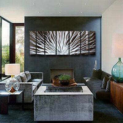 Modern Contemporary Abstract Metal Wall Sculpture Art Work Painting Home Decor