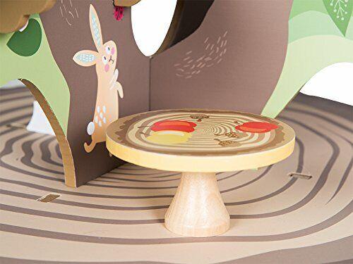 Roba Baumhaus '4 Jahreszeiten', Holz Spielzeug-Baum mit 4 Spielseiten