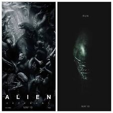 ALIEN: COVENANT (Set Of 2) Authentic Advanced Rolled 27x40 D/S Movie Posters
