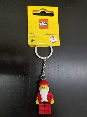 Lego Minifigure Santa Claus Key Chain New with Tags #850150 Item:4224468
