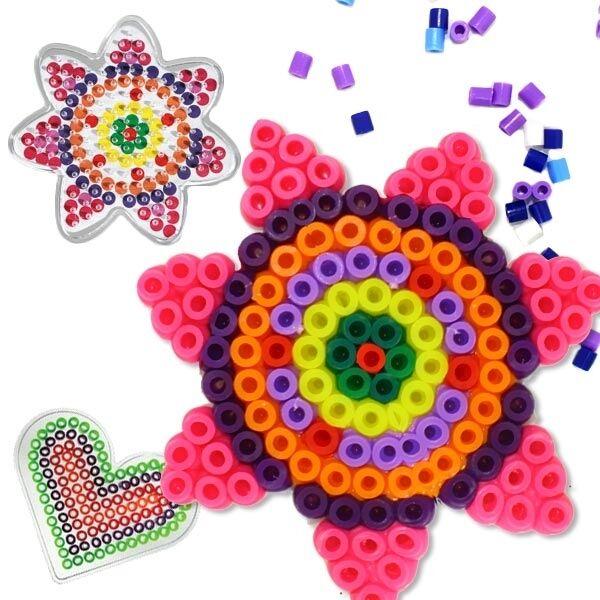 Hama Midi Bügelperlen große Aufbewahrungsbox 6751 Steckperlen Perlen Sortierbox Basteln & Kreativität