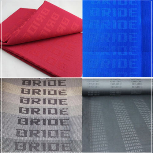 JDM Bride Fabric For Seat Cover Door Card Insert Headliner Decoration 2Mx1.6M