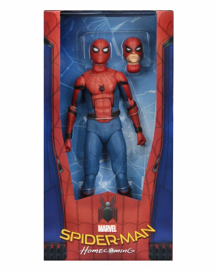 NECA - Spider-Man  Homecoming - Spider-Man 1 4 Scale Action Figure