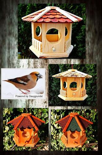 Vogelhaus Vogelvilla Nistkasten Futterhaus Vogelfutterhaus Vogelhäuschen