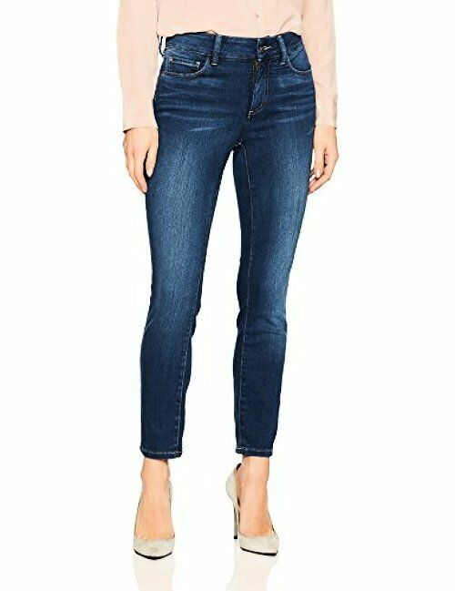 NYDJ Womens Collection Alina Skinny Ankle Jeans in Future Fit Denim