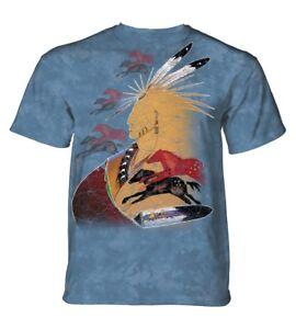 cheval Native avenir shirt T USA adulte vision montagne La de 4qwaCYXvEx