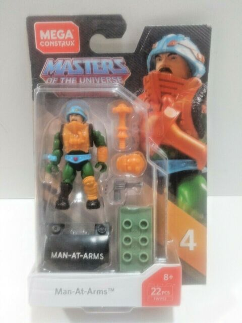 Mega Construx Masters of the Universe Man-At-Arms See Pictures