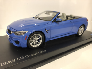 BMW M4 Congreenible F83 Yas Marina bluee bluee bluee 1 18 Scale Paragon 2339612 17c726