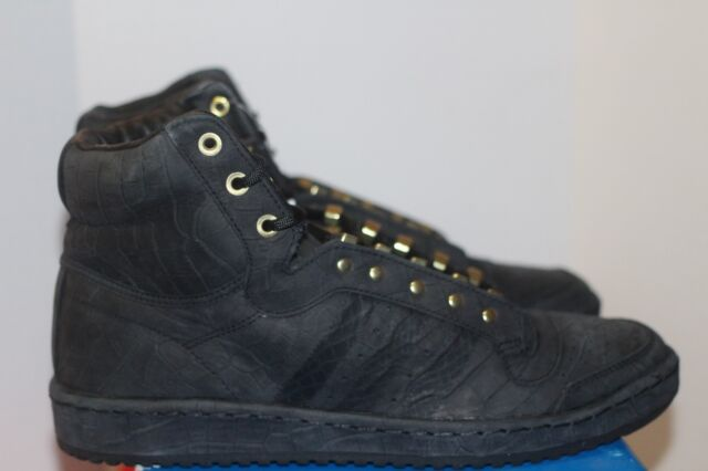 best sneakers 74a22 da46e Adidas Top Ten Hi 2 Chainz Size 11 w Receipt Black Gold