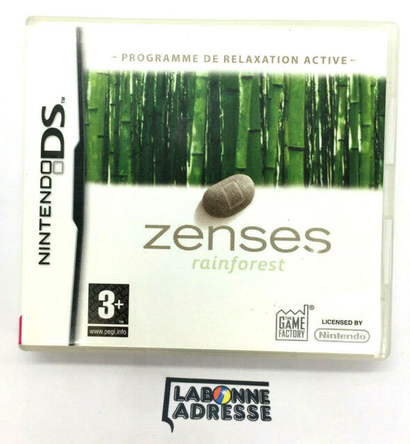 NINTENDO DS JEU VIDEO ZENSES RAINFOREST - COMPLET