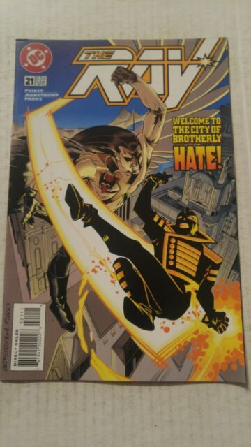 The Ray #21 February 1996 DC Comics Priest Armstrong Parks