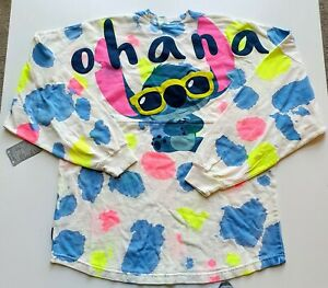Disney Parks Stich Summer Fun - Ohana Spirit Jersey - Small - NWT