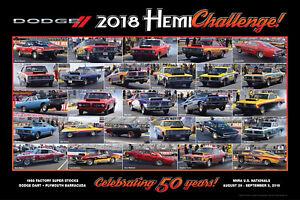2018-Hemi-Challenge-SS-AH-Dodge-Dart-Plymouth-Barracuda-30-034-x-20-034-Poster