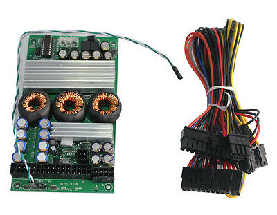 300W 8V-28V 24Pin Mini-ITX M2 Car PC DC-ATX PSU ITPS ATX Power Supply Vehicle
