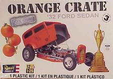 ***(C03) Revell 1/25th #85-4939 Orange Crate 32 Ford Sedan NIB