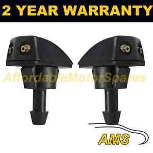 PAIR-UNIVERSAL-WINDSCREEN-WASHER-HEADLAMP-TWIN-JET-STRAIGHT-INLET-PUSH-FIT-WWY12
