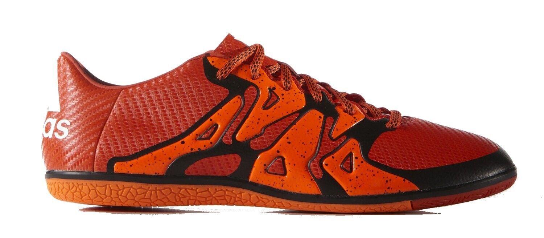 adidas Performance X 15.3 IN Hallen-Fussball-Schuh Orange Schwarz