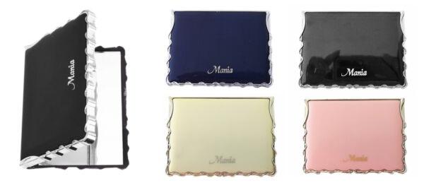 Taschenspiegel Glanz Kosmetik Make Up Spiegel Handspiegel Viereck Klappbar Sp1 Stabile Konstruktion