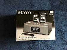 iHome iP88 Dual Dock Alarm Clock Radio for iPod & iPhone