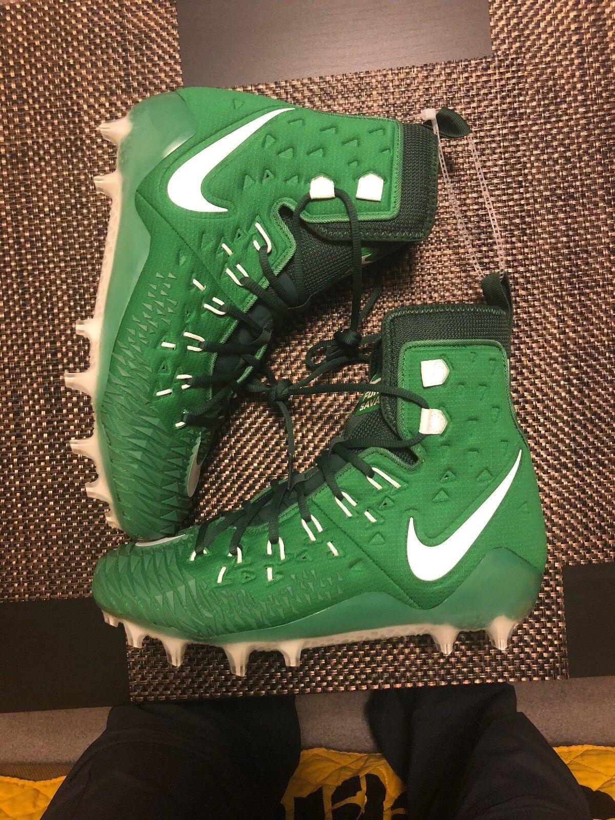 545953ea0 NIke Zoom Savage Elite TD Football Cleats Green 857063-313 Size 11.5 Force  NEW npykow1870-Men