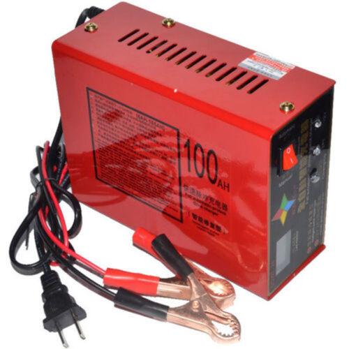 EU Plug 12V//24V Full Automatic Electric Car Lead Acid Battery Smart Charger US