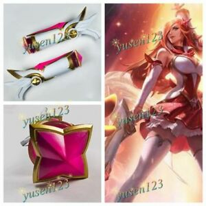 Star Guardian Miss Fortune Cosplay Prop Comic Con Woman Guns Headhelds Ebay